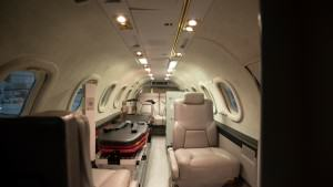 AeroCare's Lear 31ER Medically-Configured Cabin